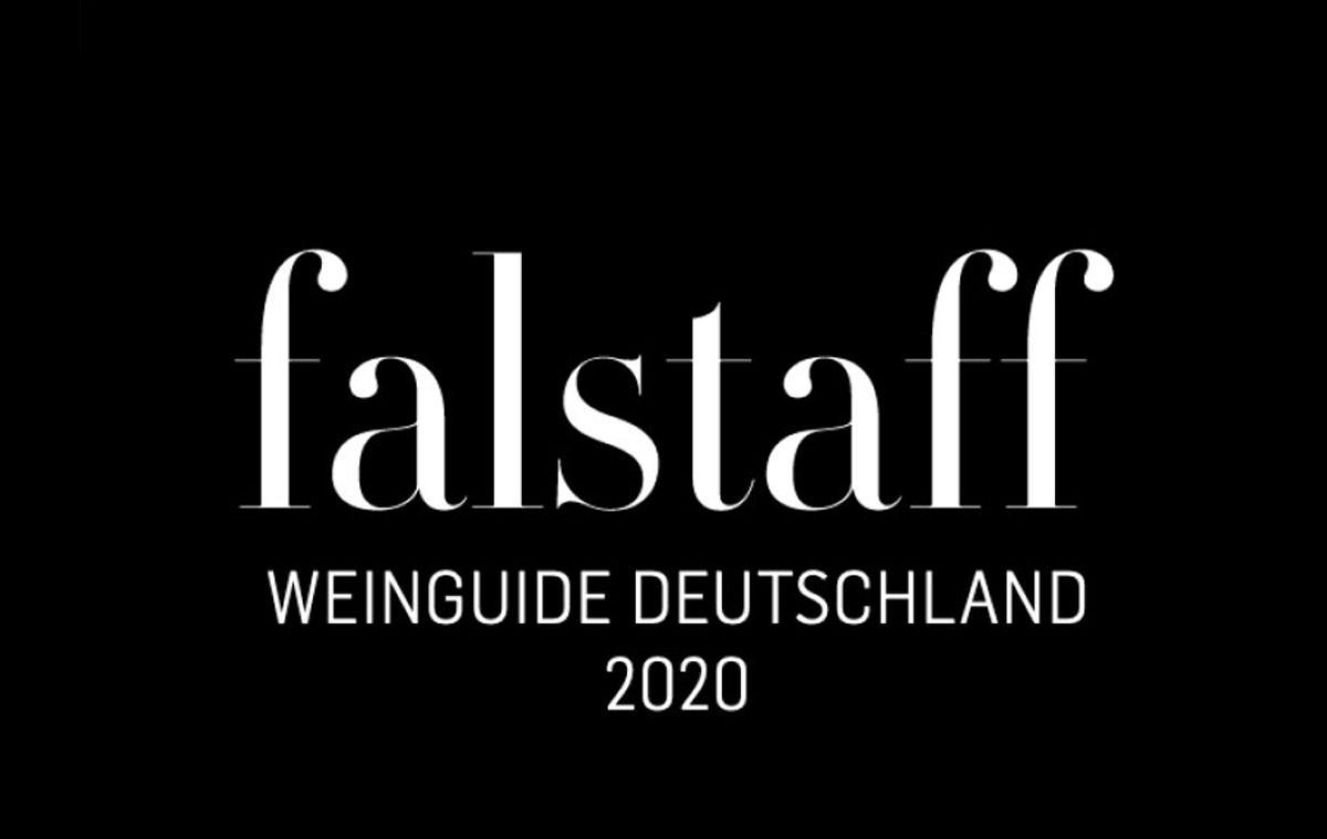 Auszeichnung von falstaff - Weinguide Deutschland