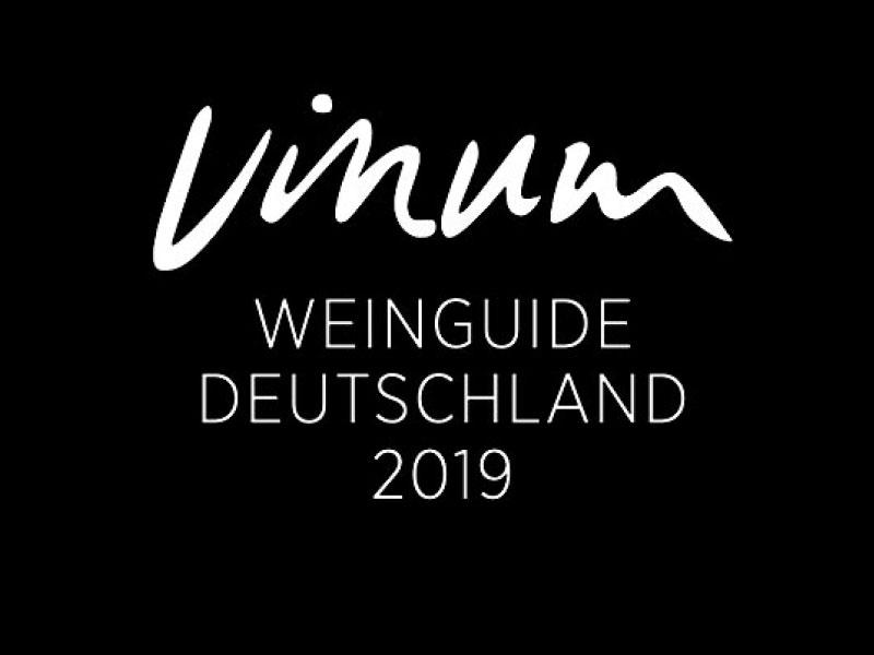 Wir sind stolz... auf eine weitere Auszeichnung von Vinum - Weinguid Deutschland 2019