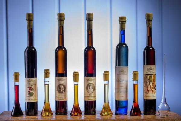 Kleine Kostbarkeiten für besondere Anlässe 5 er Set incl. Nachfüllflaschen