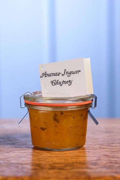 Ingwer-Ananas-Chutney