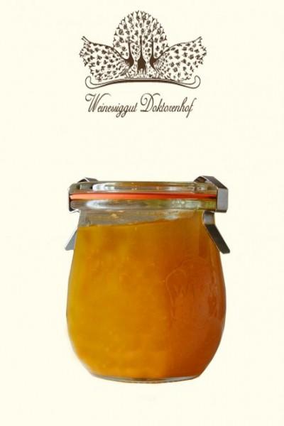 Fruchtaufstrich mit Orangen